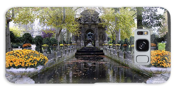 The Medici Fountain At The Jardin Du Luxembourg In Paris France. Galaxy Case