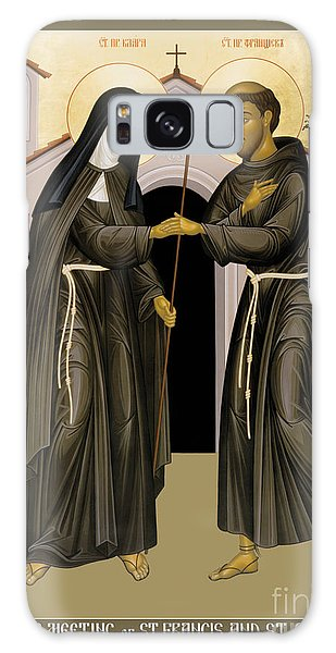 The Meeting Of Sts. Francis And Clare - Rlfac Galaxy Case