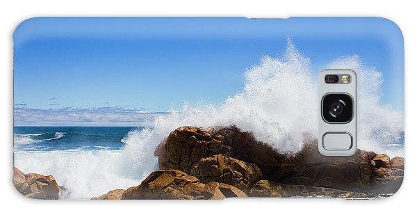 Splash Galaxy Case - The Might Of The Ocean by Jorgo Photography - Wall Art Gallery