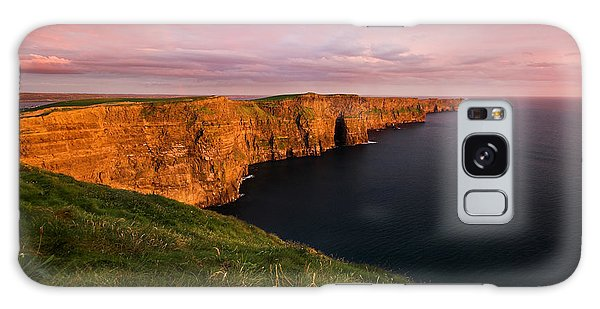 The Mighty Cliffs Of Moher In Ireland Galaxy Case