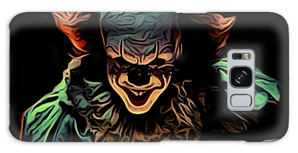 New Trend Galaxy Case - the Mighty Clown by Nana Westernia
