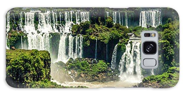 The Mighty Iguazu  Galaxy Case by Andrew Matwijec