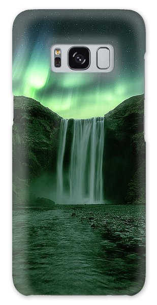 Iceland Galaxy S8 Case - The Mighty Skogafoss by Tor-Ivar Naess