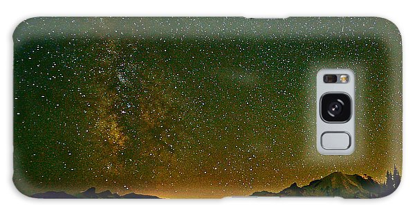 The Milky Way And Mt. Rainier Galaxy Case
