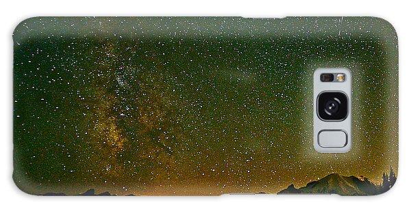 The Milky Way And Mt. Rainier Galaxy Case