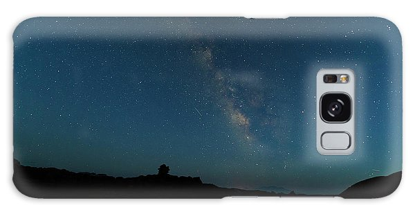 Galaxy Case featuring the photograph The Milky Way At Goblin Valley by Jim Thompson