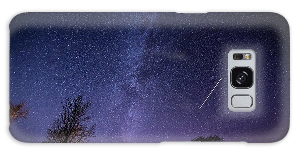 The Milky Way Over Strata Florida Abbey, Ceredigion Wales Uk Galaxy Case