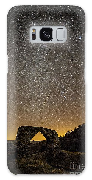 The Milky Way Over The Hafod Arch, Ceredigion Wales Uk Galaxy Case