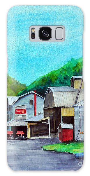 The Mill At Shade Gap II Galaxy Case
