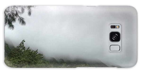Galaxy Case featuring the photograph The Mist On The Mountain by Break The Silhouette