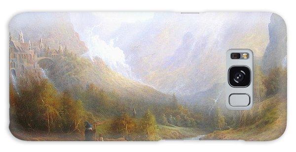 The Misty Mountains Galaxy Case by Joe  Gilronan