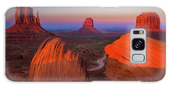 Southwest Usa Galaxy Case - The Mittens by Inge Johnsson