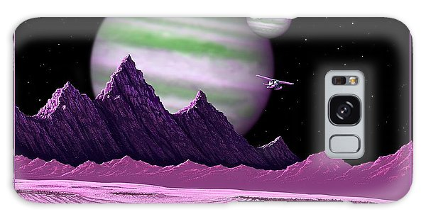 The Moons Of Meepzor Galaxy Case by Scott Ross