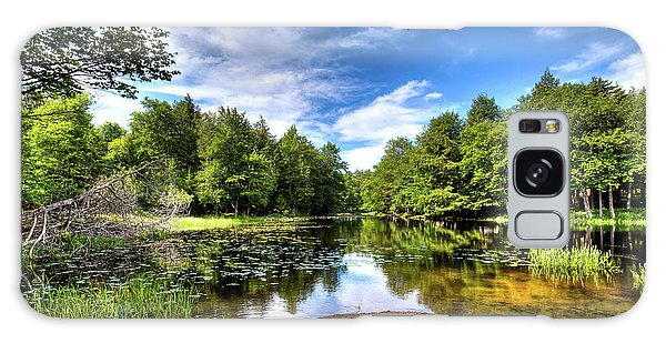 Galaxy Case featuring the photograph The Moose River At Covewood by David Patterson
