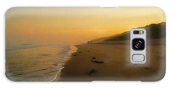 The Morning Walk Galaxy Case by Roy McPeak