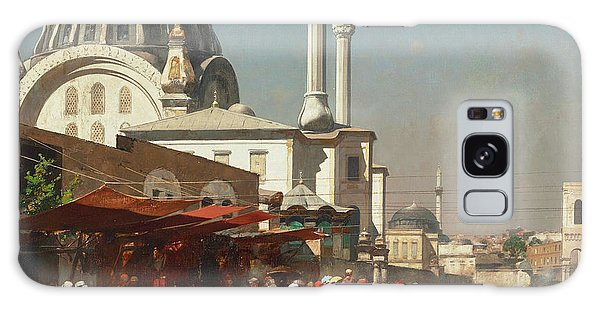 Place Of Worship Galaxy Case - The Mosque Of Mahmoudie by Alberto Pasini