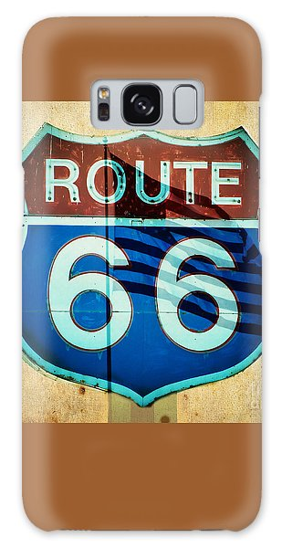 The Mother Road Route 66 Galaxy Case by MaryJane Armstrong