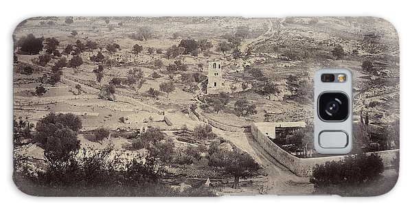 The Mount Of Olives And Garden Of Gethsemane Galaxy Case