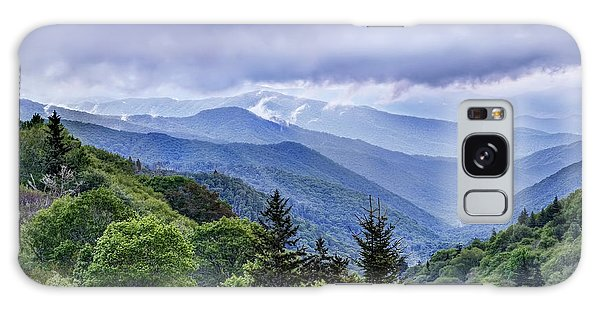 The Mountains Of Great Smoky Mountains National Park Galaxy Case