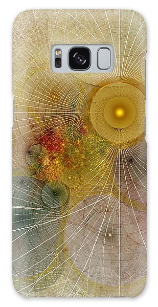 The Mourning Of Persephone - Fractal Art Galaxy Case