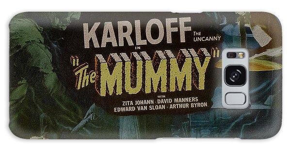 The Mummy 1929 Poster Boris Karloff Galaxy Case
