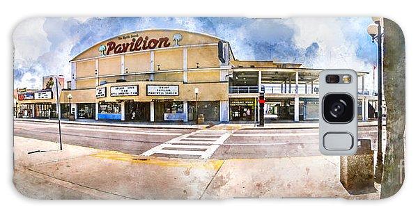 The Myrtle Beach Pavilion - Watercolor Galaxy Case