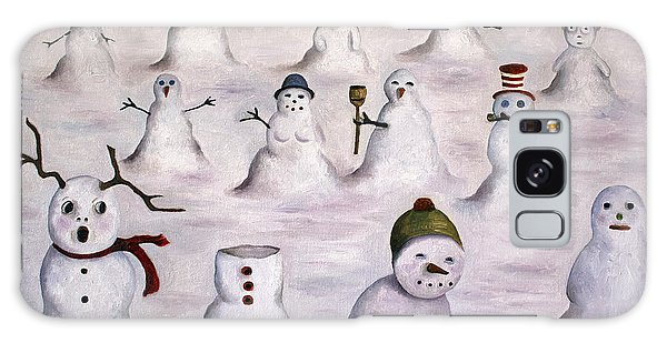 The Mystery Revealed On Snowman Hill Galaxy Case