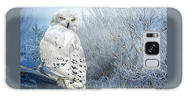 The Mystical Snowy Owl Galaxy Case