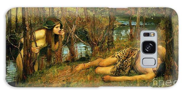 Mythological Galaxy Case - The Naiad by John William Waterhouse