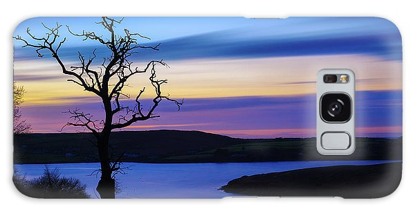 The Naked Tree At Sunrise Galaxy Case by Semmick Photo