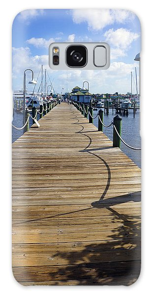 The Naples City Dock Galaxy Case