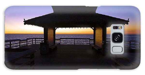 The Naples Pier At Twilight - 02 Galaxy Case