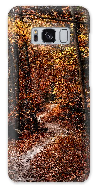 Foliage Galaxy Case - The Narrow Path by Scott Norris