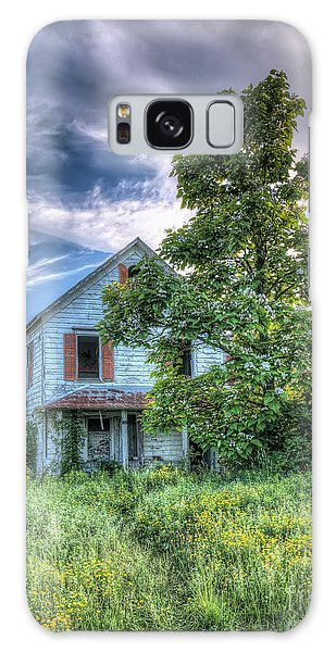 The Nathaniel White Farm House Galaxy Case