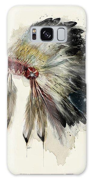 The Native Headdress Galaxy Case