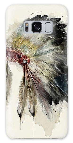 Feathers Galaxy Case - The Native Headdress by Bri Buckley