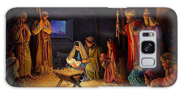 Men Galaxy Case - The Nativity by Greg Olsen