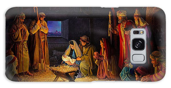 Joseph Galaxy Case - The Nativity by Greg Olsen
