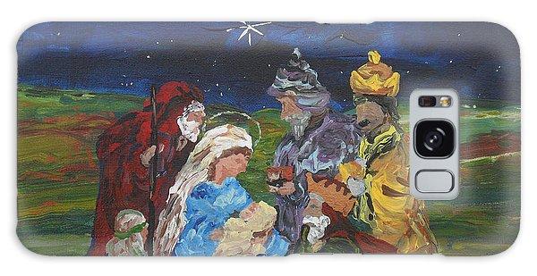 The Nativity Galaxy Case by Reina Resto