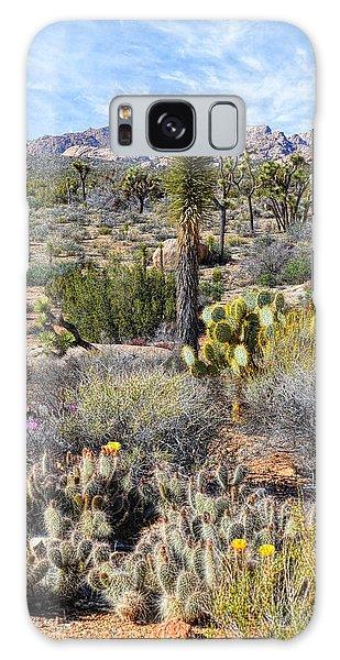 The Natural Garden - Joshua Tree National Park Galaxy Case