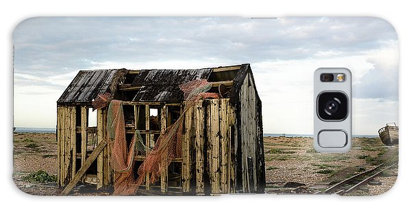 The Net Shack, Dungeness Beach Galaxy Case