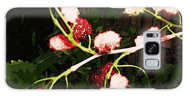Galaxy Case featuring the digital art The New Mulberries by Winsome Gunning