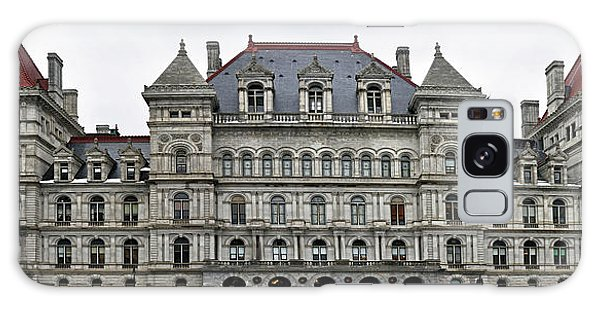 The New York State Capitol In Albany New York Galaxy Case by Brendan Reals