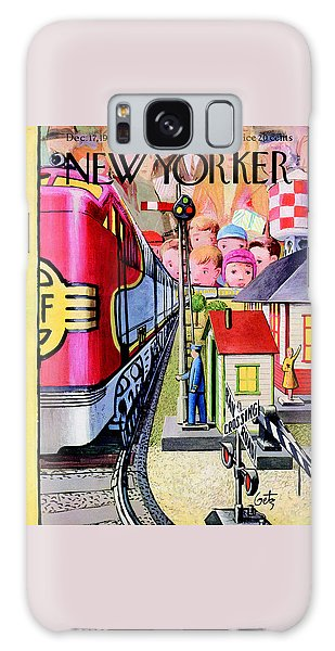 The New Yorker Cover - December 17th, 1955 Galaxy Case
