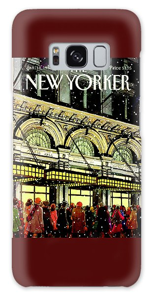 The New Yorker Cover - January 18th, 1988 Galaxy Case