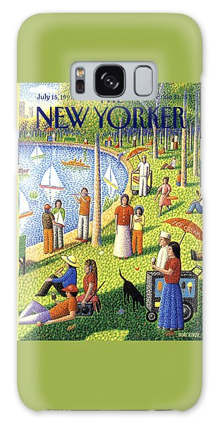 The New Yorker Cover - July 15th, 1991 Galaxy Case