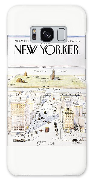 New Yorker March 29, 1976 Galaxy S8 Case
