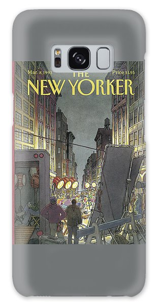 The New Yorker Cover - March 8th, 1993 Galaxy Case