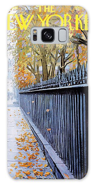 Autumn In New York Galaxy Case