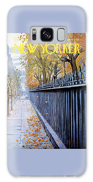 Autumn In New York Galaxy S8 Case